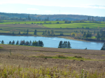 Clyde River from Meadow Bank – toward St. Catherine's & DunedinEstates