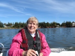 Cruising West and Clyde River with Vans andEmily