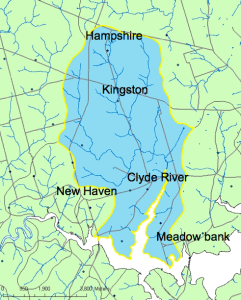 Clyde River sub-watershed