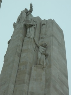 Top of column at Vimy Ridge