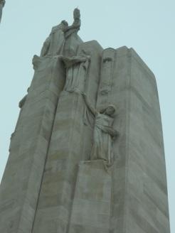 Top of column at Vimy Ridge