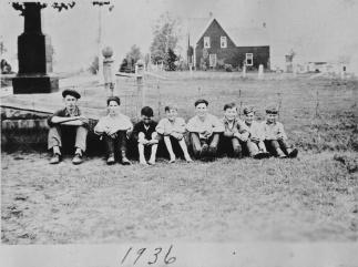 School boys 1936