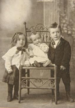 Dan, Addison & Spurgeon Livingstone - 1900