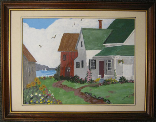 The Old Home - Artist Audrey MacPhee