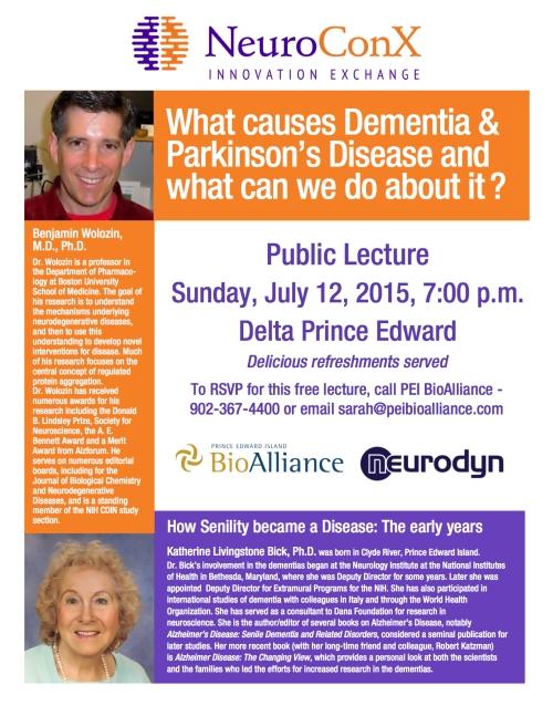 NeuroConX 2015 Public Lecture Poster - Final copy