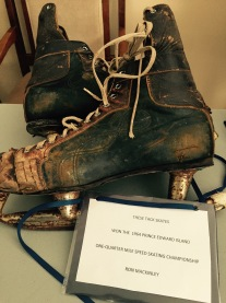 Ronnie MacKinley's skates