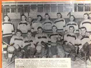 Nine Mile Creek Bulldogs 1958-59