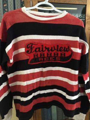 Francis MacIsaac's hockey jersey 1957