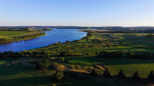Drone over Clyde River
