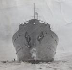 HMCS Prince Henry on the St. Lawrence River atSorrel