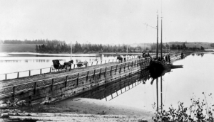 North River Bridge, 1894 - Public Archives photo