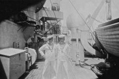 John Beer & fellow seaman on Prince Henry