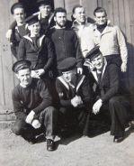 Navy buddies, John - bottom right