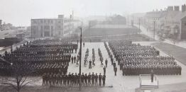 Church Service, HMCS Stadacona, Halifax 1941