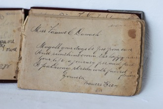Inside of Autograph Book - Frances (Darrach) Beer