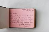 Inside Hilda's Autograph Book