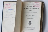 John Beer's Navy Manual WW2 - (Donated by Beer Family)