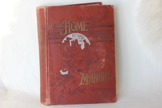 Hilda (Murray) Beer's Home Manual - (Donated by Beer Family)