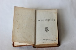Baptist Hymn Book 1880s (Donated by Beer Family)