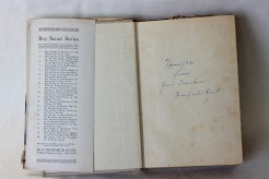 Inside book gifted to Arnold Beer 1930s (Donated by Beer Family) (Donated by Beer Family)