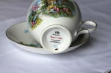 Ridgway Potteries - Royal Vale - featuring cottage scene, Pattern no. 7382, Style A