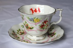 Royal Albert - Our Emblems Dear - Gainsborough shape - limited production (1980-81)