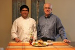 Chef G.V. and owner Alan MacPhee