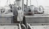 Hazel Beer and her Halifax cousin Lorraine